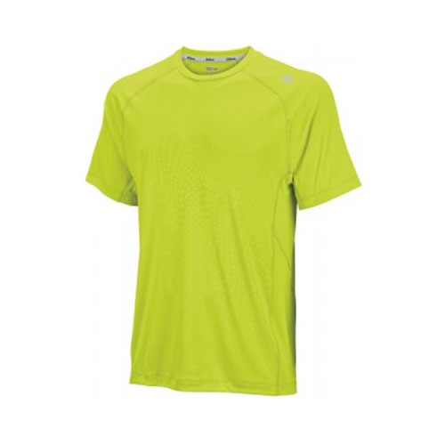 CAMISETA EMBOSSED CREW SOLAR LIME