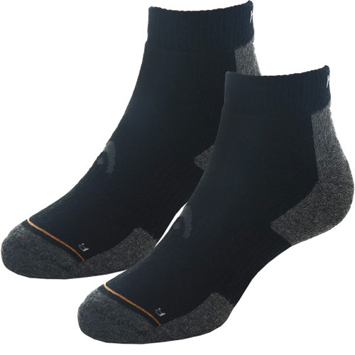 CALCETINES QUARTER ATHLETES NEGRO